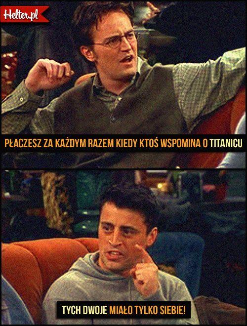 Cytaty Filmowe z Serialu Przyjaciele - Friends HELTER  #friends #przyjaciele #śmieszne #cytaty #film #kino #cytatyfilmowe #popolsku #helter #polskie