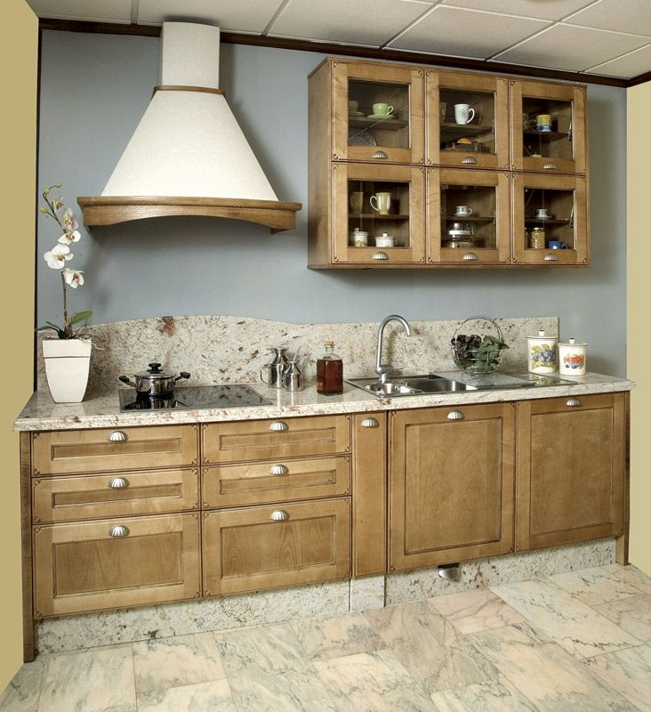 108 best images about kitchens cozinhas on pinterest madeira cabinets and wall tiles - Cocinas camperas rusticas ...
