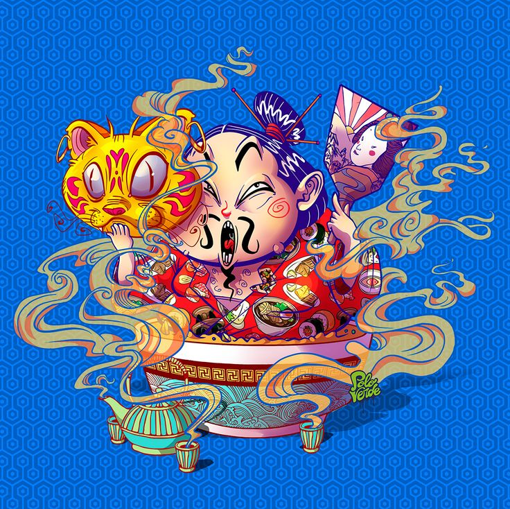 "Echa un vistazo a este proyecto @Behance:""CAT RAMEN"" https://www.behance.net/gallery/53693503/CAT-RAMEN"