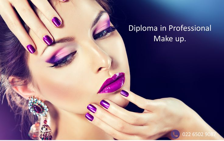 Diploma course in Make Up. Course offered by Asha Hariharan.