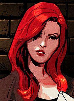 Natasha Romanoff in Black Widow: Name of the Rose #1