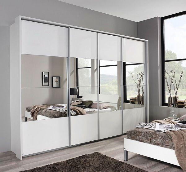 LIV\u0027IN Kleiderschrank LAGOS Alpinweiß/Hochglanz Weiß #Kleiderschrank - schlafzimmer holz massiv