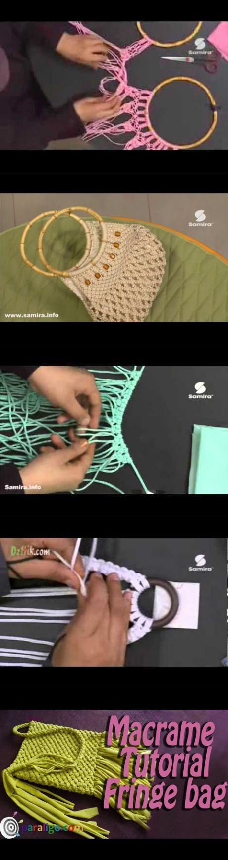 حقيبة يد بغرزة جوزيفين Samira Tv - YouTube