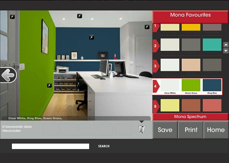 17 beste idee u00ebn over Groene Verfkleuren op Pinterest   Groen geschilderde kamers, Groen