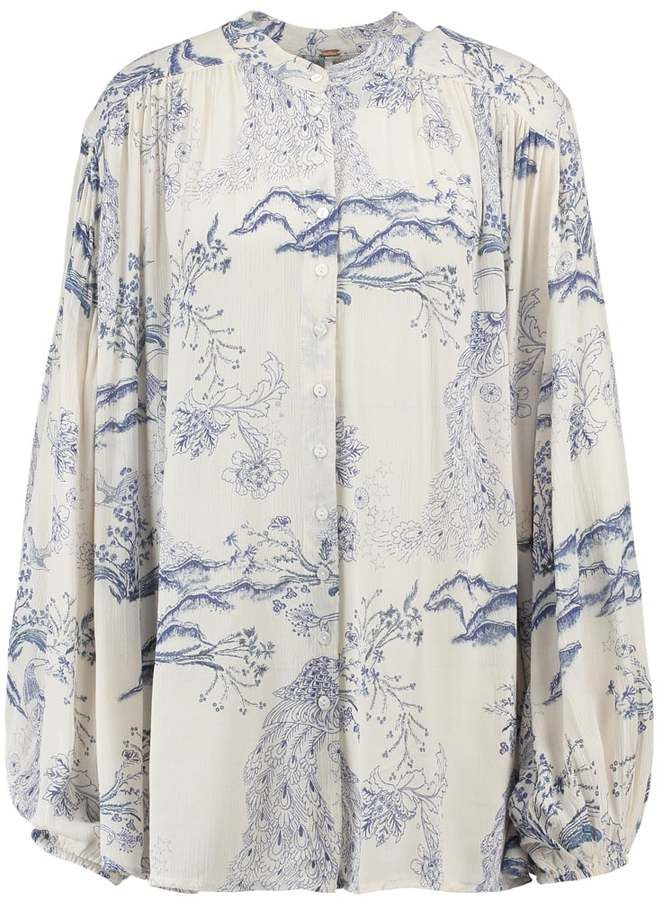 Free People Blouse ivory
