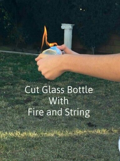 17 best images about projects to try on pinterest dog for How to cut glass with string and fire