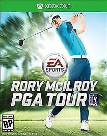 EA Sports Rory McIlroy PGA Tour (Microsoft Xbox One, 2015) ADULT OWNED FREE SHIP