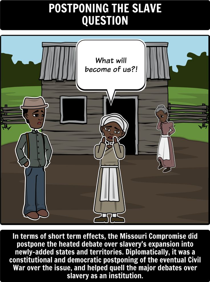missouri compromise of major effects in this activity  missouri compromise of 1820 major effects in this activity students will use a spider web to branch out other acts compromises and court case