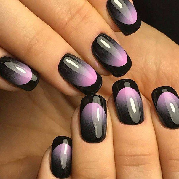 6338 funky french tip nails