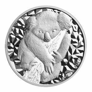 Australian Koala 1 Ounce Silver 2007 | Golden Eagle Coins