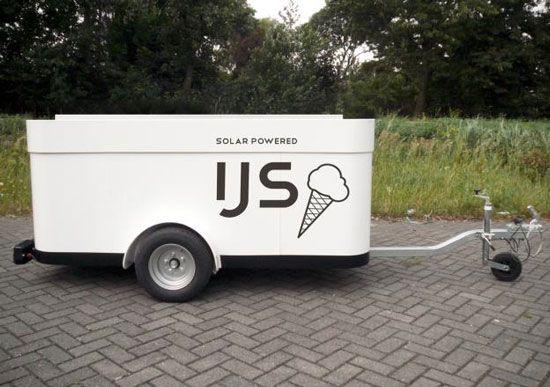 Sustainable Solar Powered Ice-Cream Carts