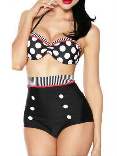 Sports/Outdoor Lycra Patchwork Sexy Tankini Bikini for Women Girl Ladies