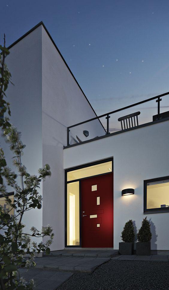 Stjernehimmel over en flot villa med Character Pulse