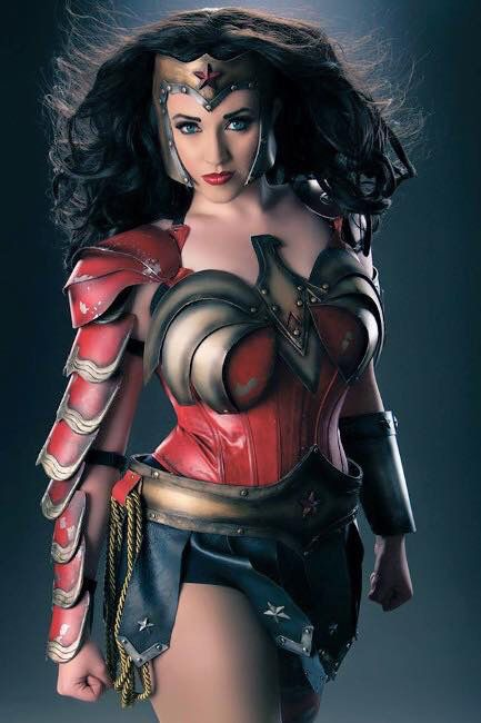 Callie cosplay Wonder Woman