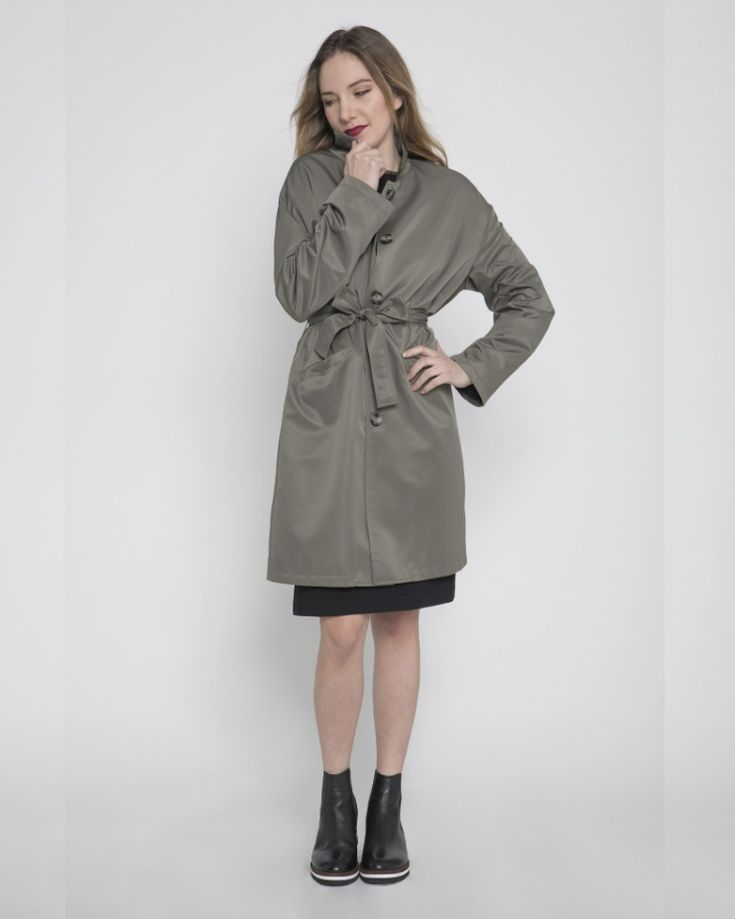 #iscollection #olivegreen #trenchcoat #everydaylife #urbanlife