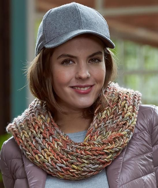 Pattern Knit  Color Kid Cowl