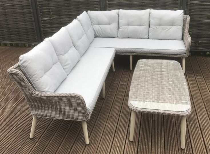 Rattan Garden Furniture Danielle L Shape Corner Sofa Rattan To Go Corner Design Rattan Furniture Rattan Garden Furniture Furniture Dining Sofa