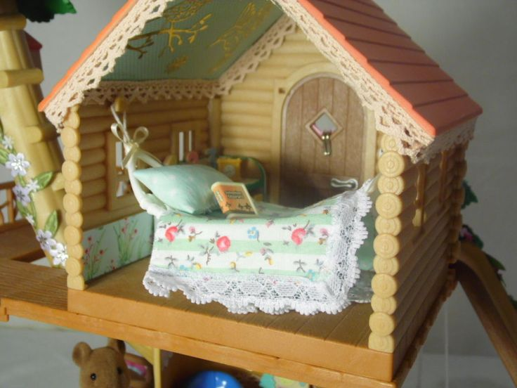 Sylvanian Family Decorated Treehouse 2in1 Christmas Summer Fully Furnished L K   eBay