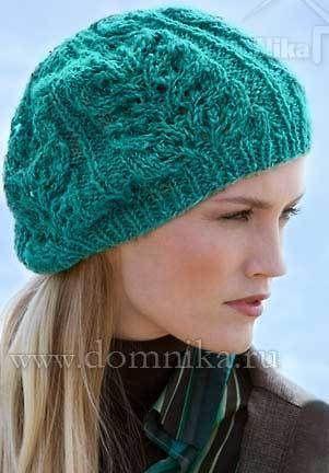 вязание спицами шапок - Самое интересное в блогах