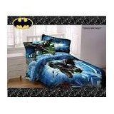 """Batman Forced Darkness Microfiber FULL sheet set and Twin/Full Bedding Comforter Bed in a Bag coordinated set by WB. $106.98. The Dark Knight rises once more to protect the people of Gotham City against the evildoer Bane. Children can now join Batman in his fight for good to prevail with this comforter. Warner Bros. Batman Forced Darkness Microfiber Twin/Full Bedding Comforter: Fits twin or full size bed Dimensions: 72"""" x 86"""" 100 percent polyester Polyester fill Machin..."""