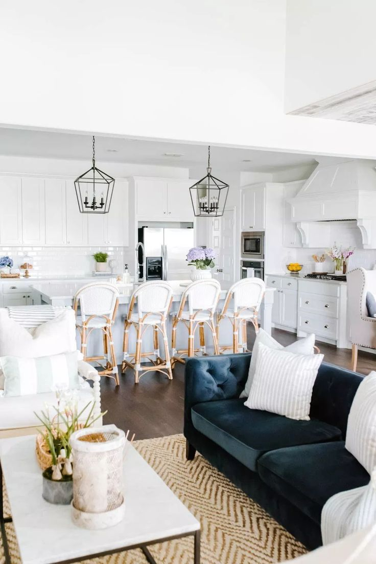 Simple And Fresh Summer Kitchen Decorating Ideas With Images