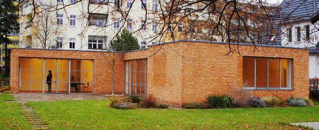 Lemke Haus, Berlin 1933, Mies van der Rohe.