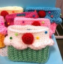 Twinkie Chan's cupcake cozies!