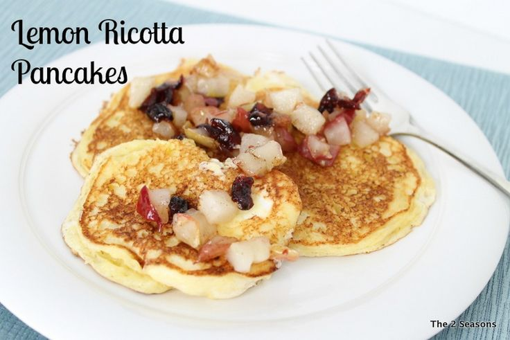Lemon Ricotta Pancakes | Our Recipes | Pinterest
