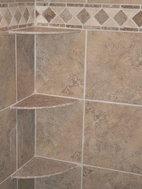 25 best ideas about shower shelves on pinterest shower