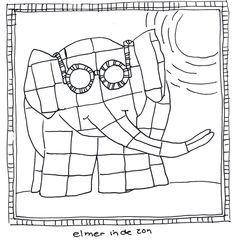 elmer Alphabet Primary Resources, Elmer the elephant, Elmer story - Buscar con Google