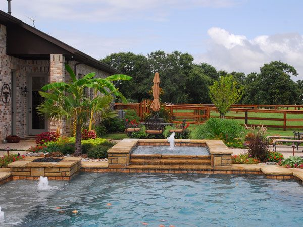 Perfect Garden Ideas Around Swimming Pools Backyard Pool
