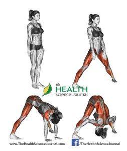 © Sasham | Dreamstime.com - Yoga exercise. Wide-legged Forward Bend. Prasarita Padottanasana. Female
