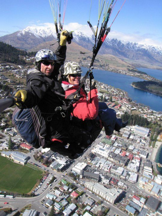 I did a paraglide from the top of the mountain in Queenstown, NZ. Was one of the most amazing experiences I have ever had.