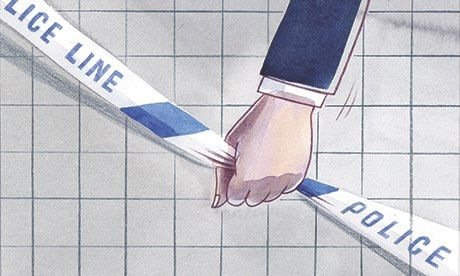 'Police statistics have been a conspiracy against truth for decades.' Illustration by Toby Morison