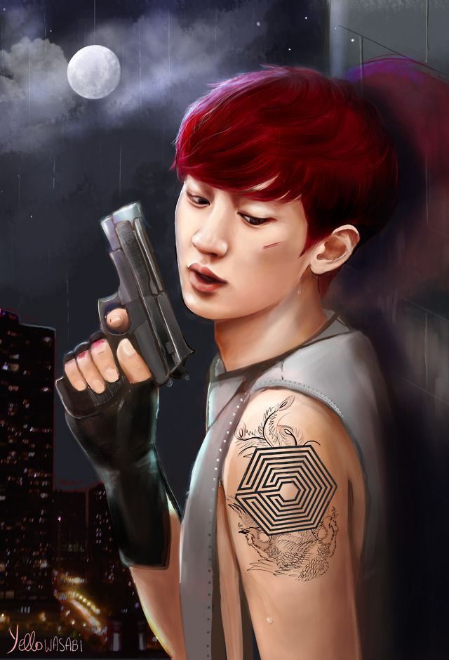 Chanyeol Fanart O_O