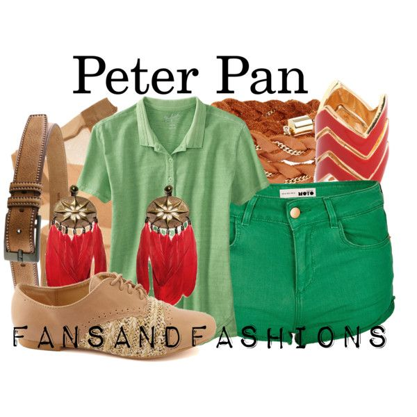"""Peter Pan"" by sunshineowlnew on Polyvore"