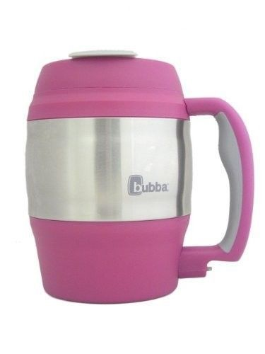 Pink 52 oz. Bubba Cup Travel Mug Insulated Double Wall Hot Cold Coffee Mug. $19.95. http://www.ebay.com/itm/NEW-52-oz-Bubba-Cup-Travel-Mug-Insulated-Double-Wall-Hot-Cold-Coffee-Mug-/281376422740