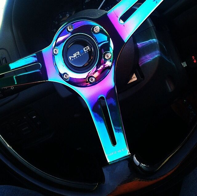 Neo chrome nrg steering wheel