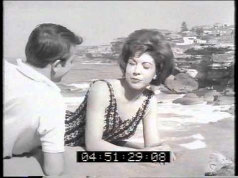 Rowntrees Fruit Pastilles 'beach' 1961 TV commercial /Australian ad.