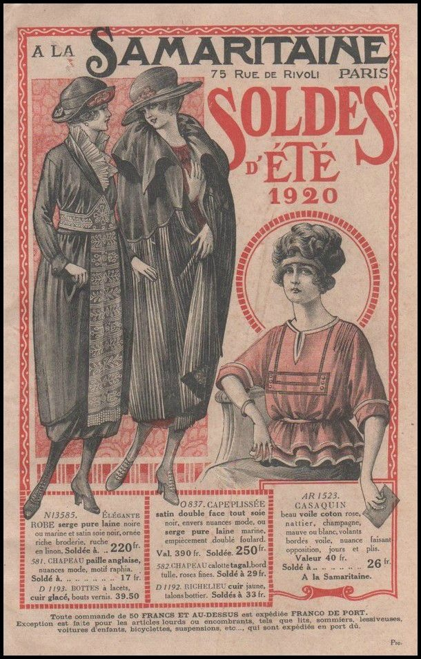 Department Stores Th Century Fashion
