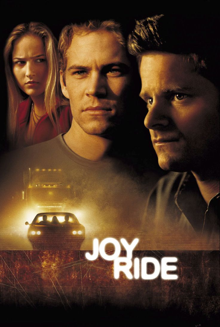Joy Ride (2001) Το «Joy Ride» περιστρέφεται γύρω από τρεις νέους που κατά τη διάρκεια του ταξιδιού τους με το αυτοκίνητο κάνουν μια κακόγουστη φάρσα σ' έναν φορτηγατζή μέσω ασυρμάτου. #JoyRide