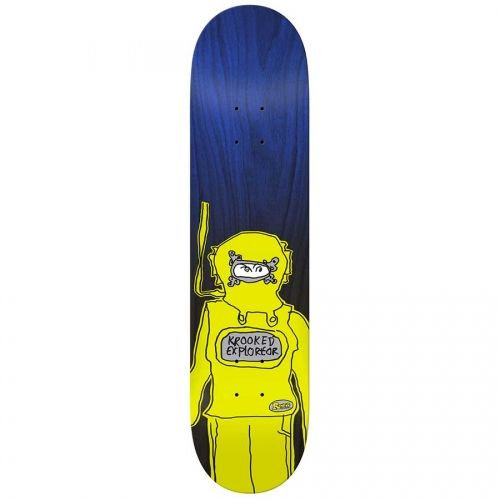 Krooked Skateboards Krooked Ronnie Sandoval Exploreor 1OFF Deck  8.75x32.55