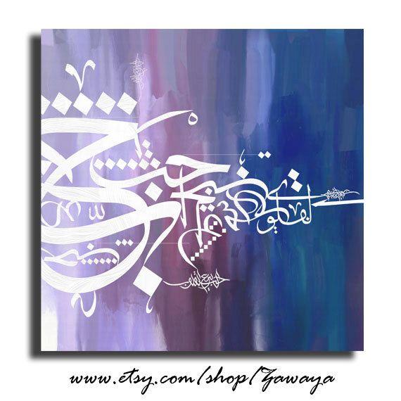 Home decor oil painting canvas print white blue navy door Zawaya