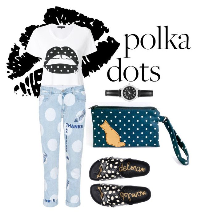 """So Dotty *2"" by kryssicha on Polyvore featuring Markus Lupfer, STELLA McCARTNEY and Sam Edelman"