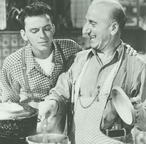 Frank sinatra and jimmy durante in quot it happened in brooklyn quot