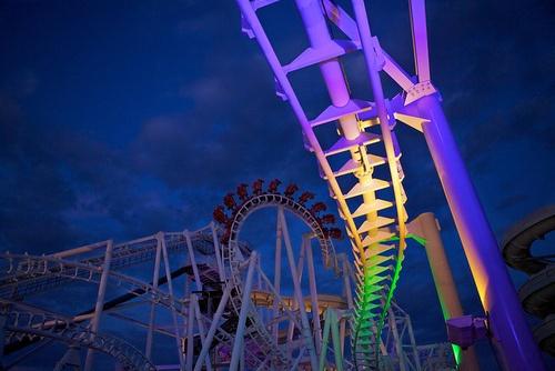Go on a giant roller coaster