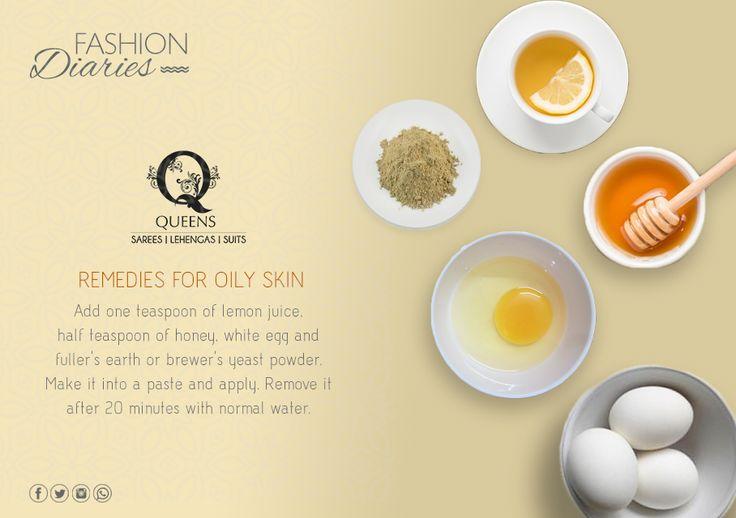 Goodbye oily skin! #QueensEmporium #BeautyTips #FashionDiaries