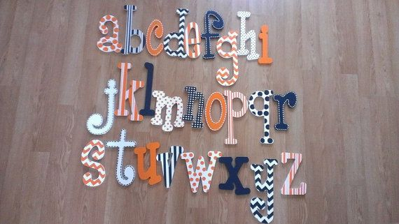 Hand Painted Letters Nursery Decor Painted by LetsNameThatRoom, $8.00