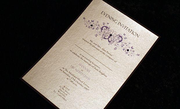 icanhappy.com evening wedding invitations (13) #weddinginvitations