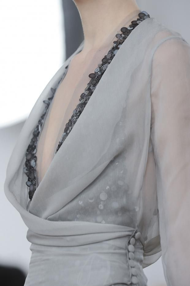 fashionsprose:  Details at Julien Fournié Couture S/S 2014
